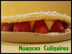 biscuit cuillère aux fraises