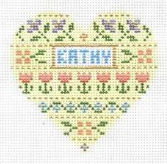 Needlepoint Designs by Laurel Wheeler - Personalized Designs