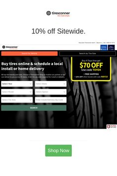 Best deals and coupons for Tirescanner Buy Tires, Tires Online, Tyre Brands, Discount Tires, Discount Shopping, All Brands, Tired, Coupons, Coding