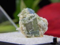 Tourmaline Crystals var Elbaite w/ Cookeite and Quartz Matrix, Mt Mica Maine Gem  | eBay