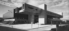 Broome County Cultural Center, Binghamton, New York. 1973 ELS Architects - Barry Elbasani, Donn Logan & Michael Severlin