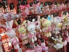 Shibuya 109 - gyaru department store in Tokyo. See photos of the cute, trendy gal brands including Liz Lisa at: http://www.lacarmina.com/blog/2013/04/shibuya-109-tokyo-gyaru-shopping-asia-designer-clothes-shoes/    kawaii bunny charms, cell phone accessories shibuya