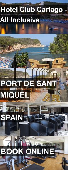 Hotel Club Cartago - All Inclusive in Port de Sant Miquel, Spain. For more information, photos, reviews and best prices please follow the link. #Spain #PortdeSantMiquel #travel #vacation #hotel