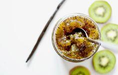Confiture kiwi vanille