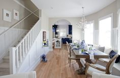 Love It or List It Vancouver: Talia & Travis' new kitchen, dining, living room, and stair case!!