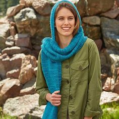Highland - a scarf with a hood from Weekend Wraps by @knittingschooldropout and @cecilyam http://ift.tt/1TGu8z7