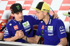 Vinales, Rossi, Argentinian MotoGP 2017