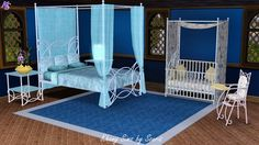 India bedroom by Souris - Sims 3 Downloads CC Caboodle