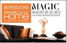 Sourcing at Magic to add home textiles category