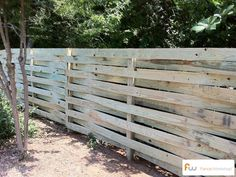Basket Weave Wood Privacy Fences | The Strickland™