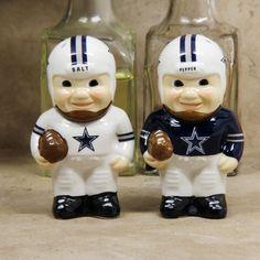 Dallas Cowboys Player Salt Pepper Shakers