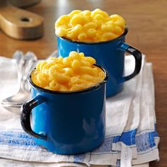 """Easy Slow Cooker Mac & Cheese Recipe -My sons always cheer, """"You're the best mom in the world!"""" whenever I make this creamy mac & cheese perfection. Does it get any better than that? —Heidi Fleek, Hamburg, Pennsylvania"""