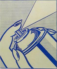 Roy Lichtenstein Spray Can : Lot 602