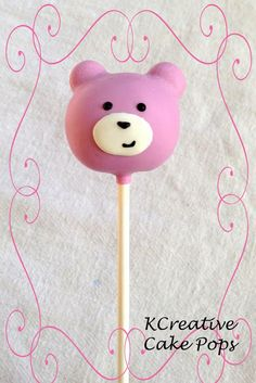 ♔ Pint Sized Baker: Bear Cake Pops by KCreative