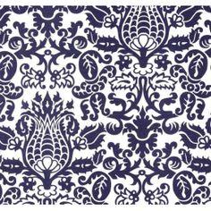 Amsterdam in Navy Home Decor Cotton Slub Fabric PP93A
