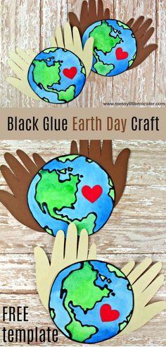 Black glue earth day