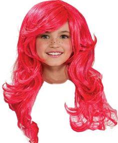 Strawberry Shortcake Child`s Wig $9.68