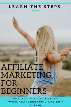 Affiliate Marketing for Beginners | Fearless Affiliate