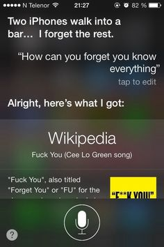 When you got burned via the medium of song. | 29 Times Siri Was Actually A Bit Of A Dick