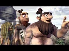 TADUFEU (HD) Cavemen Discovery of fire - A HILARIOUS 3d Animated Student Film (ESMA) - YouTube