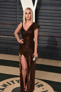 Oscars 2017 After Party Looks: Katy Perry - Jean Paul Gaultier Couture.