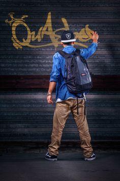 Graffiti Artist by Calvin Hollywood, via Behance