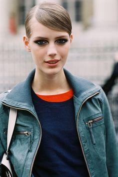 Bold eye --Vanessa Jackman: Paris Couture Fashion Week AW 2013....Esther
