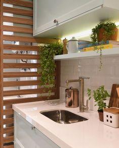Kitchen Tiles, Kitchen Layout, New Kitchen, Design Kitchen, Life Kitchen, Küchen Design, House Design, Interior Design, Kitchen Interior