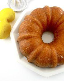 Life's a feast: GLAZED LEMON BUNDT CAKE I of course made them lemon glaze with powdered sugar. I put that on everything.