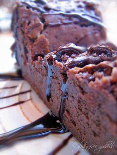 my flourless chocolate cake.