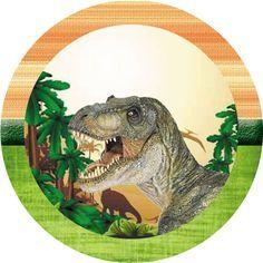 Dinozaurii (Real) - Digital Kit gratuit - Inspire Your Party ® Boys 1st Birthday Cake, Dinosaur Birthday Party, Fête Jurassic Park, Jurrassic Park, Dinosaur Cake Toppers, Dinosaur Crafts, Dragon Party, Prehistoric Animals, T Rex