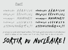 Typographies - Formes Vives, l'atelier