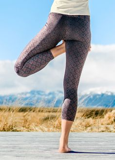 Roxanne Printed Leggings from Prana are great for a workout or running to the grocery store.