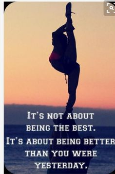 Being a gymnast myself this is so true. Nobody is perfect!! Please follow me. It's presshandstands!