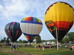 The 2015 Coshocton Hot Air Balloon Festival was set