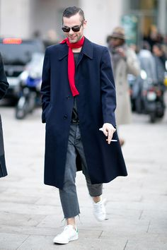 Мужская неделя моды в Милане F/W 2015: street style. Часть 3, Buro 24/7