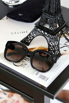 49bf9c11e6d Buy your Celine CL New Audrey Black sunglasses from VisionDirect