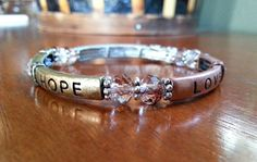 Faith Hope and Love Multi-Metal Stretch by MissGawdysJewelry