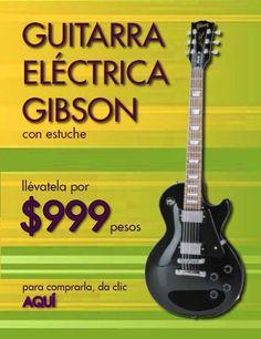 Guitarra electrica Gibson con estuche
