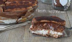 Tiramisù alla nutella facilissimo, veloce, ricetta dolce senza cottura, senza uova crude, golosissimo e facile da preparare