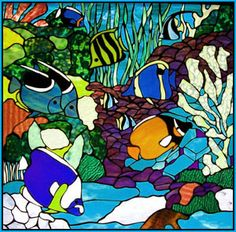 Stained Glass Designs | stained glass fish patterns - get domain pictures - getdomainvids.com