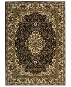 "Nourison Area Rug, Persian Arts BD02 Chocolate 7' 9"" x 10' 10"" - 8 x 10 Rugs - Rugs - Macy's - Polyester/Acrylic - $1499.00"