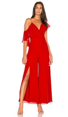Shop for FAME AND PARTNERS x REVOLVE Jumpsuit in Red at REVOLVE. Free 2-3 day shipping and returns, 30 day price match guarantee.