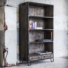 Boekenkast Rift 100cm - 5755/16AL | Meubelpartner