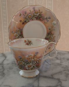 RP: Vintage Royal Albert English Bone China Cup and Saucer - Russet Mantle | eBay.com