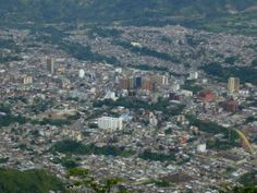 Vista aerea Ibague, Tolima