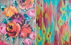 Kristy Gammill,a 34 year old artist and mother of three teenagers, finds inspiration in ancient textiles and flea market finds. Herimpressionist-like paintings are so beautifully saturated in color, they would just about brighten anybody's day.