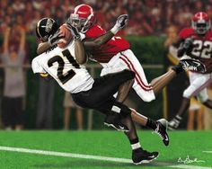 """""""The Catch"""" - greatest catch of all time by Tyrone Prothro vs Southern Miss. Roll Tide!"""