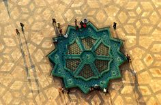 THE GEOMETRY OF LIFE Morocco's mixture of Berber, Arab and African culture melds centuries of tradition in a vibrant modernity.  PHOTO BY JACQUES BRAVO,