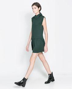 Zara funnel dress